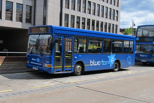 Go South Coast 3302  SN03EBP Tranbus Dart SLF