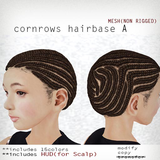 group gift!cornrows hairbase A
