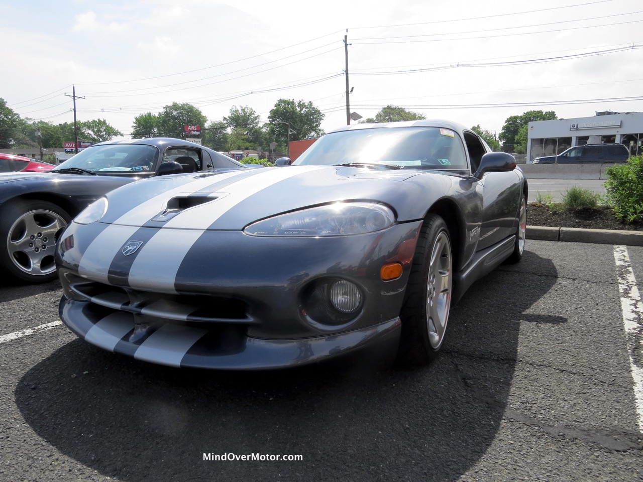 Dodge Viper GTS Gray