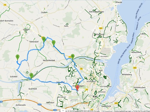 3. Extratour/Fahrradtour zum Wurzelhof der Gemeinschaft Schinkel