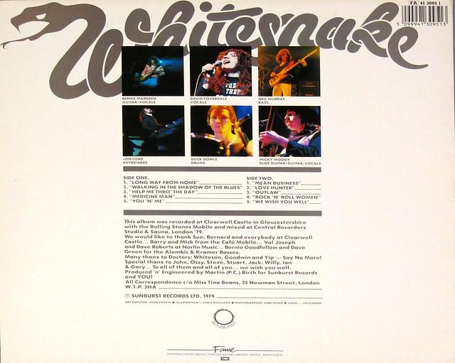 """Whitesnake Lovehunter 12"""" VINYL LP"""
