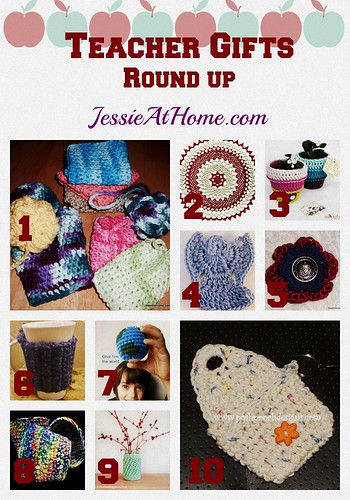 Teacher Gift Crochet Pattern Round Up from Jessie At Home