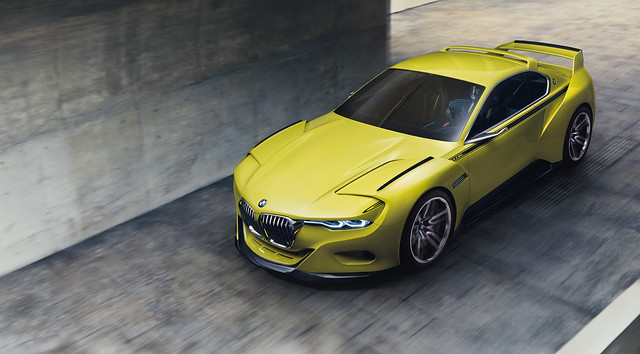 BMW 3.0 CSL Hommage – racing flair with a touch of class