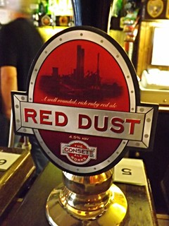 Consett Ale Works. Red Dust, England