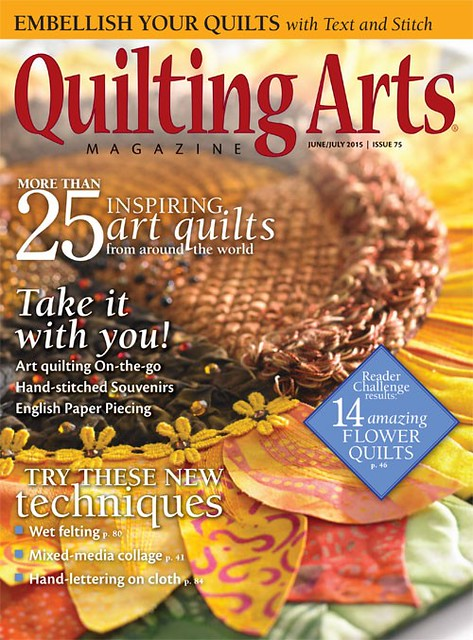 Quilting Arts Magazine 2015 june july
