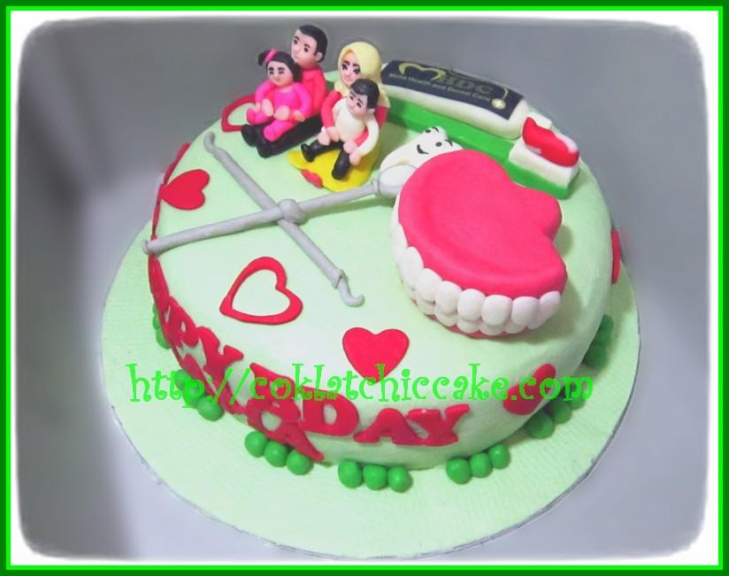 Cake Dokter Gigi Mama Jual Kue Ulang Tahun