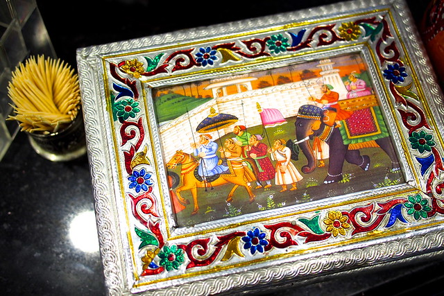 Tour of Singapore: Apollo Banana Leaf Curry - box of mints