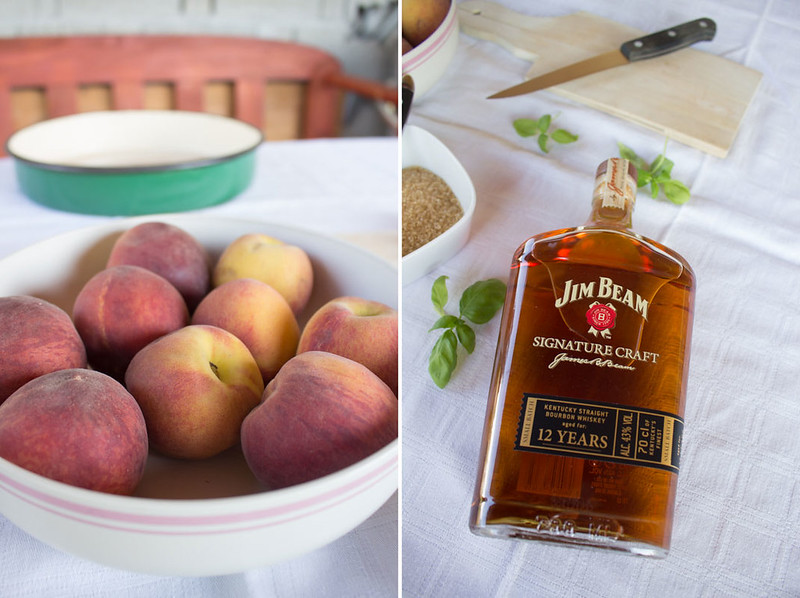 whiskey pfirsiche zum vatertag