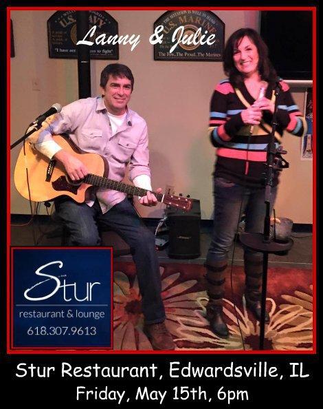 Lanny & Julie 5-15-15