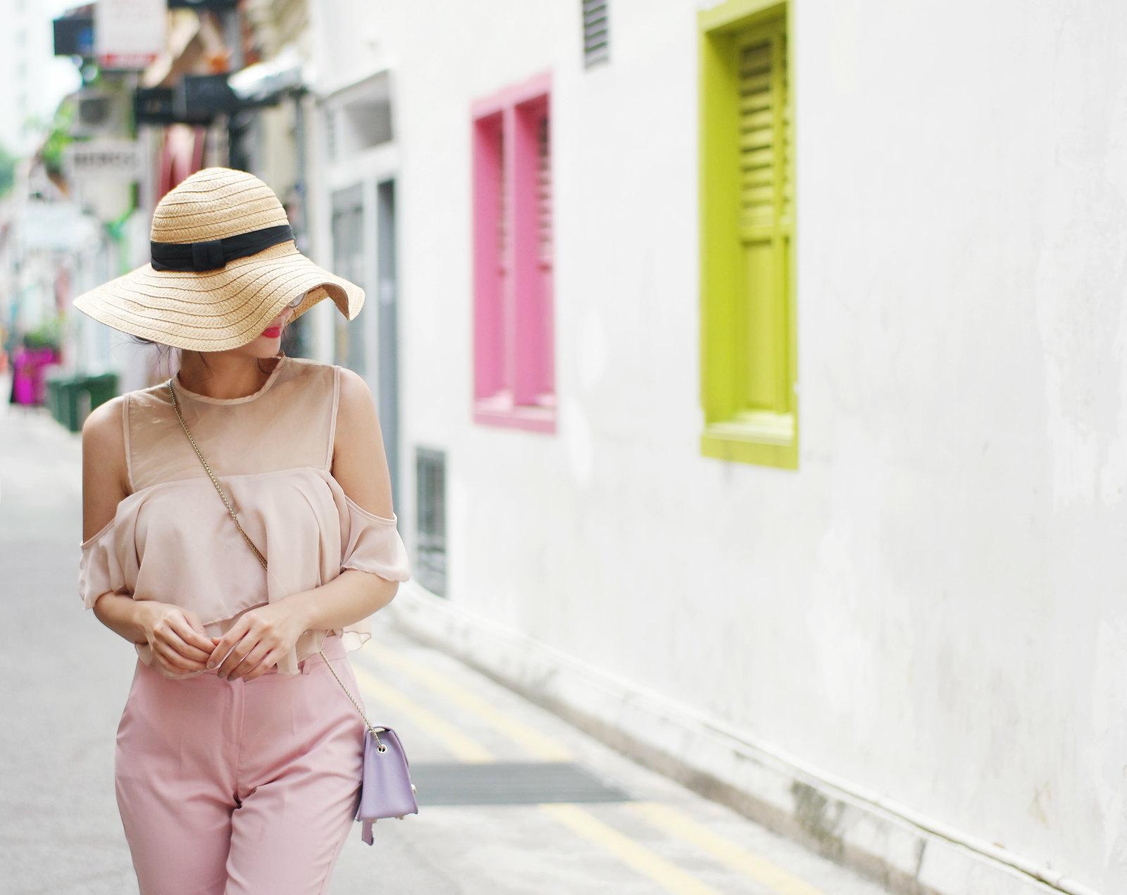 Vern Enciso Filipina Blogger Pink Outfit
