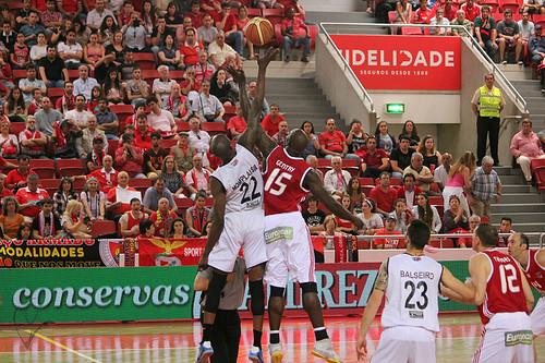 Basquetebol: Benfica - Vitória SC (final)
