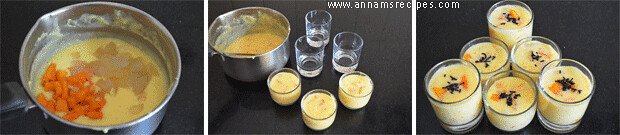 Mango Nungu Pudding / ice apple pudding