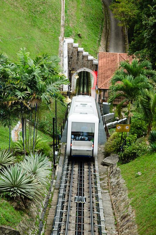 Train to Penang Hill / Bukit Bendera
