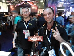Our friends from Australia, with a very special E3 delivery.
