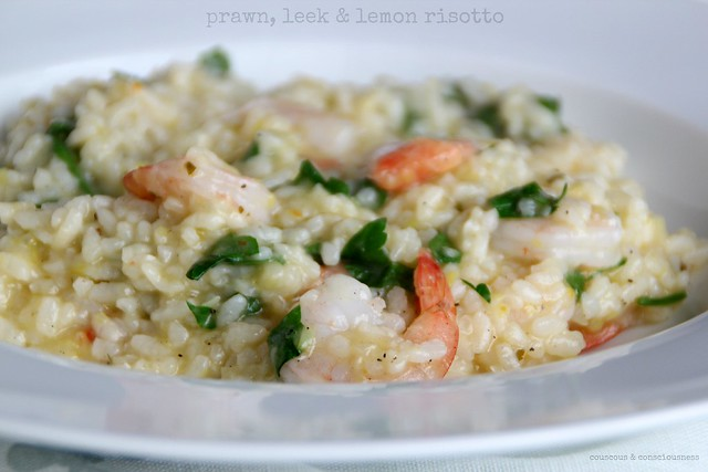 Prawn, Leek & Lemon Risotto 1