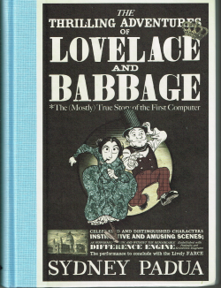 Lovelace and Babbage Book Cover UK small