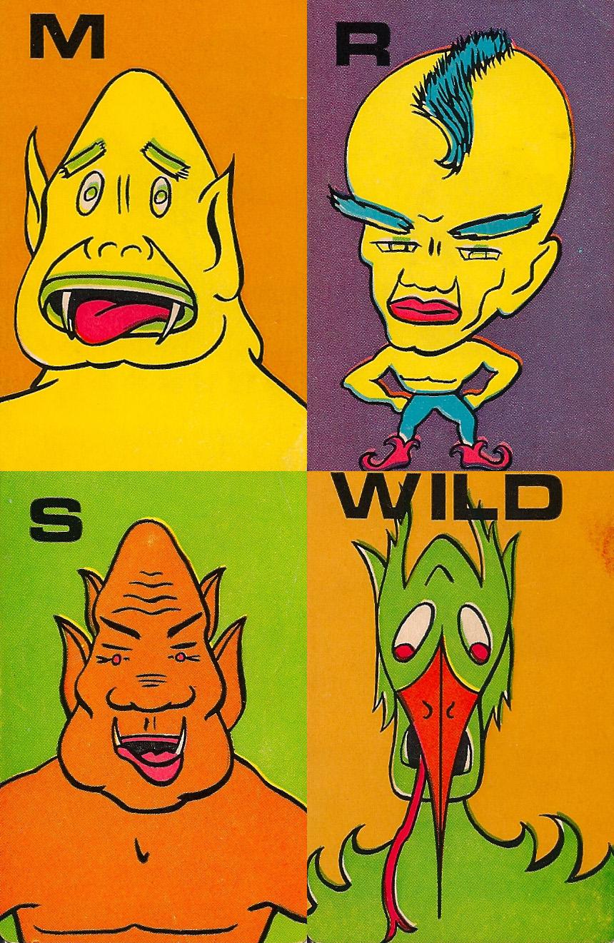 Monster Flip Cards - 5
