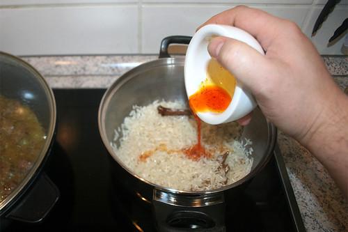 40 - Safran hinzufügen / Add saffron