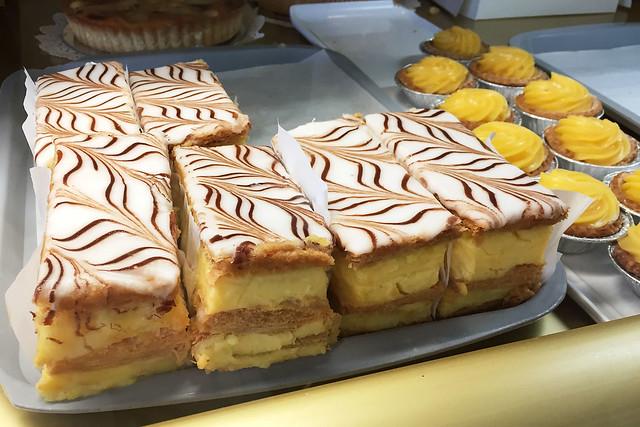 Vanilla slice: Delicia