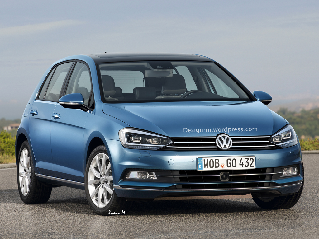 volkswagen golf 7 facelift rm design
