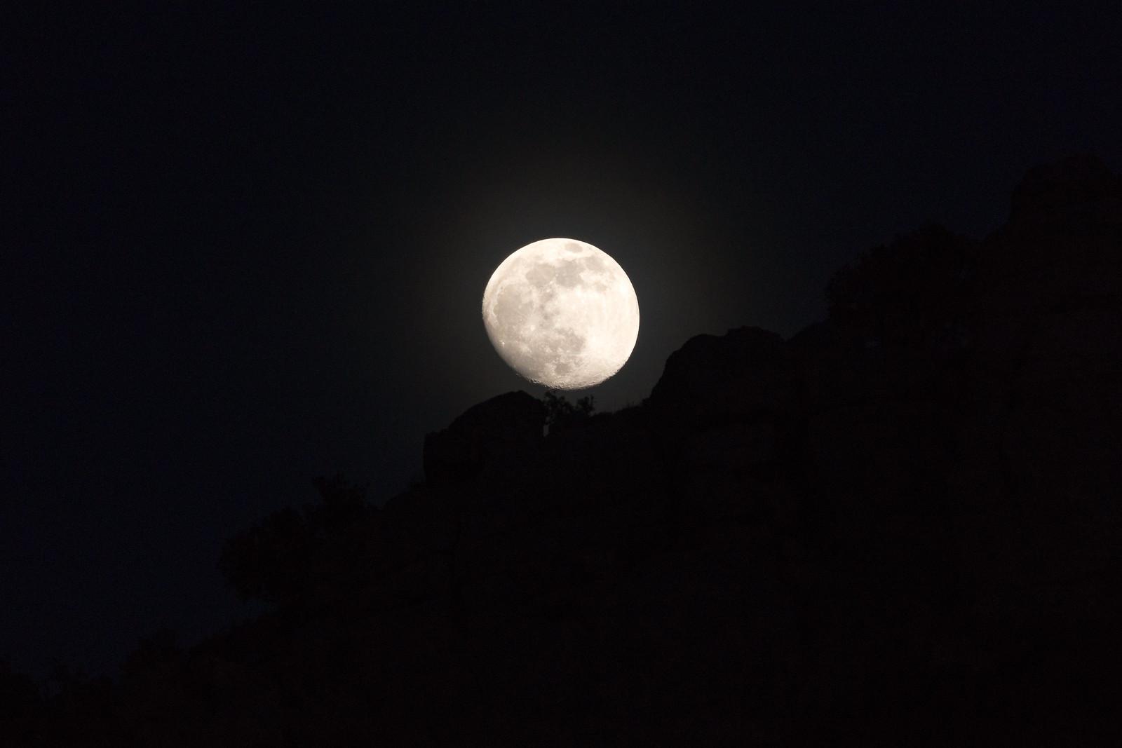 1505 Molino Canyon Moonrise