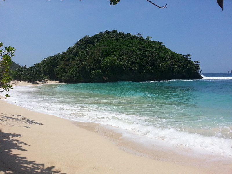 This beach is awesome and lonely