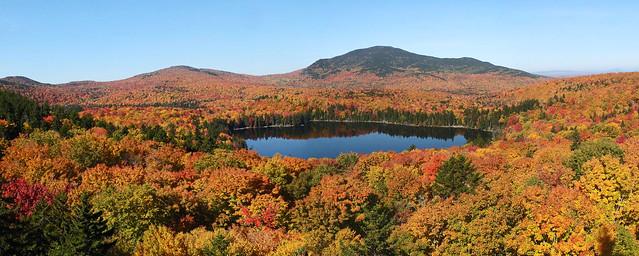 Big Moose Pond pano 10-7-16