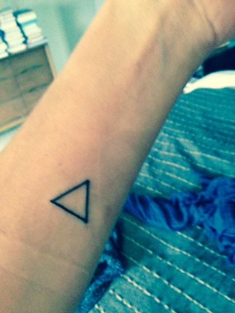 May have gotten a tatoo