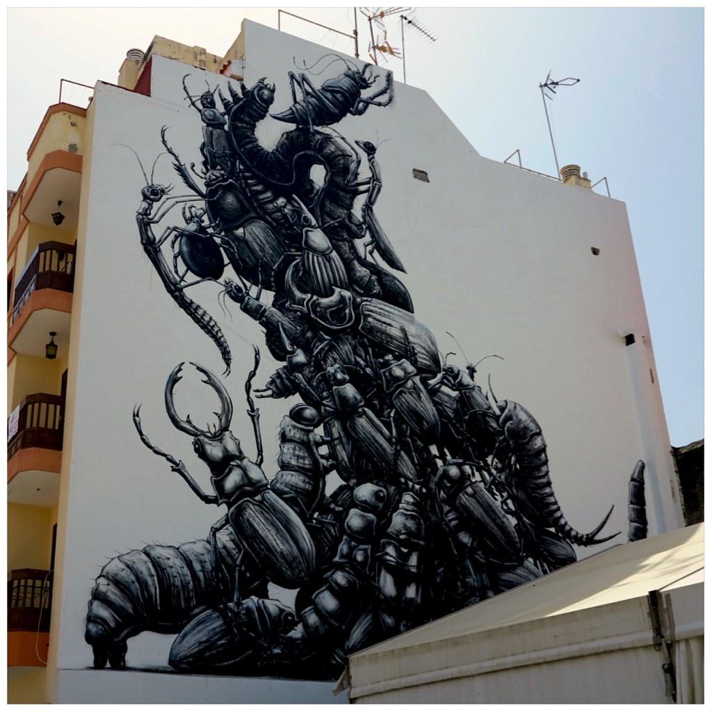 De los murales en Puerto de la Cruz más bonitos