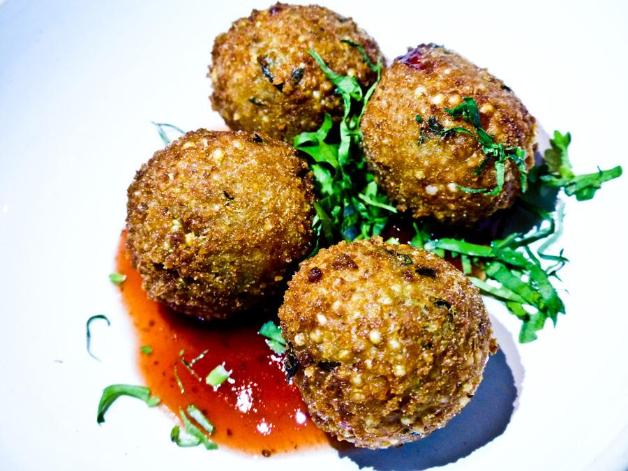 Quinoa-Croquetas,-Andina,-London