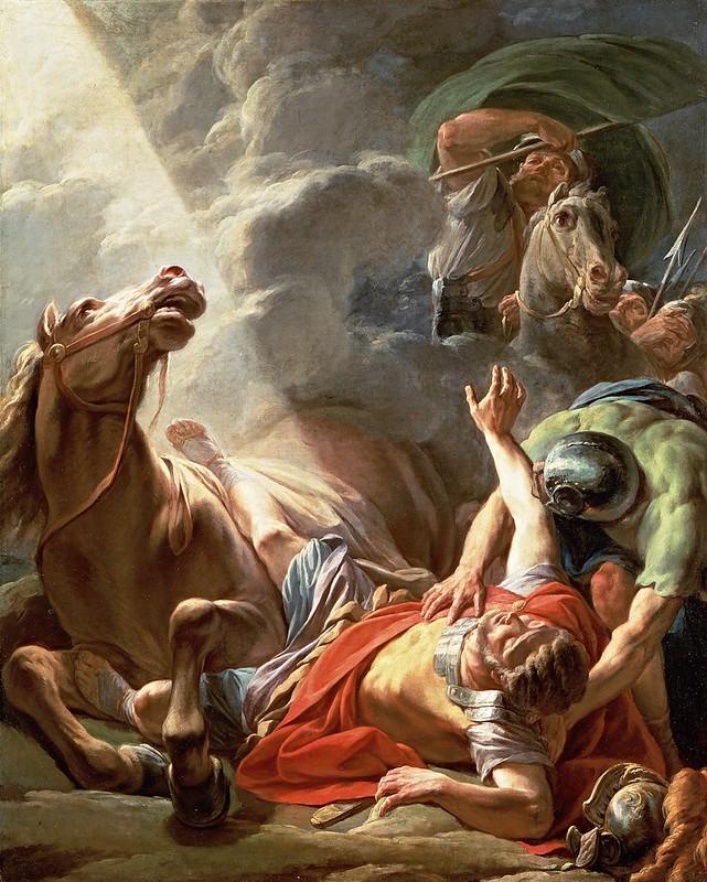 Nicolas Bernard Lepicie - La Conversión de San Pablo (1797)