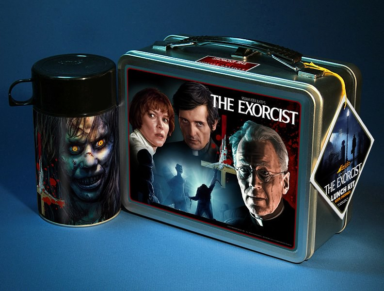 The Exorcist Lunchbox by Christopher Franchi