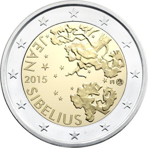 *2 Euro Fínsko 2015, Jean Sibelius