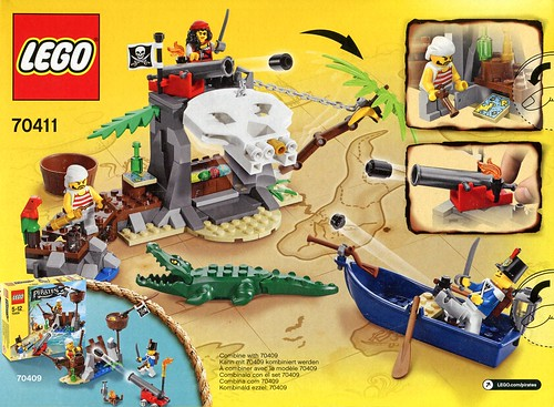 LEGO Pirates 70411 Treasure Island box03