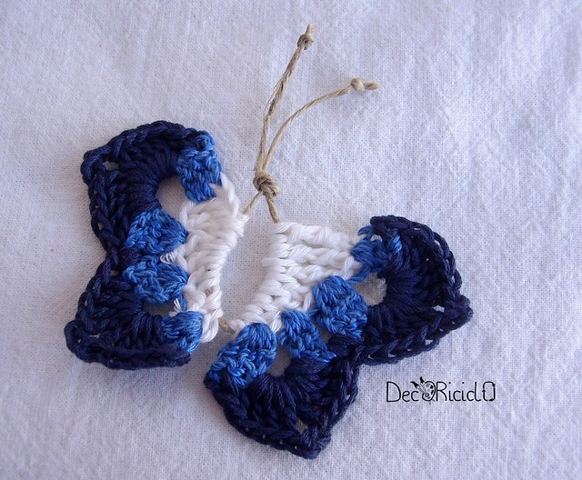 farfalline spago e cotone 6
