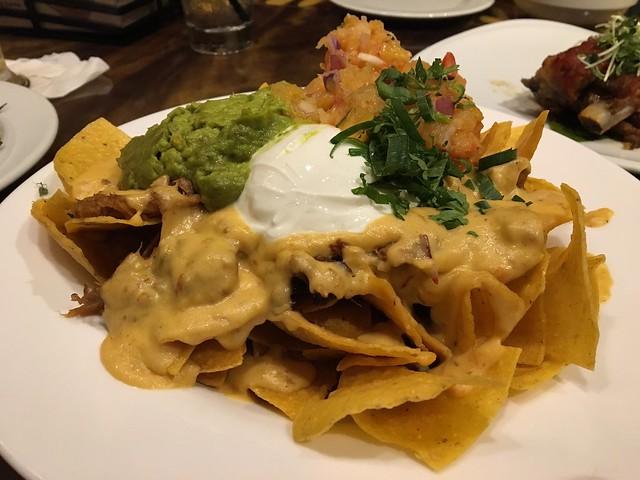 Kalua pork nachos - Tropics Bar & Grill