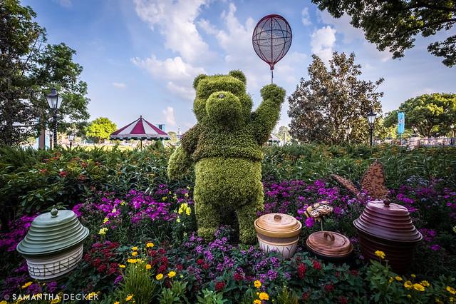 Pooh Bear at EPCOT