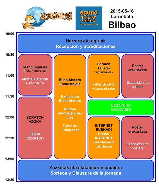 Scratch Eguna 2015 en Bilbao y Vitoria-Gasteiz