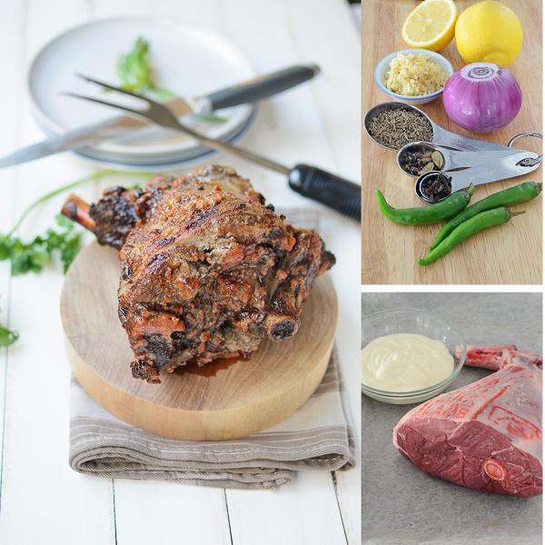 Memsahib's rotisserie lamb recipe