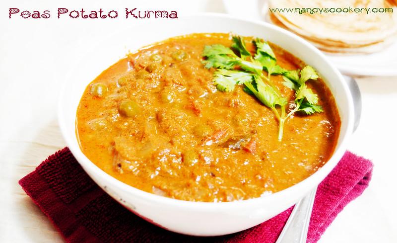 Peas Potato Kurma Recipe