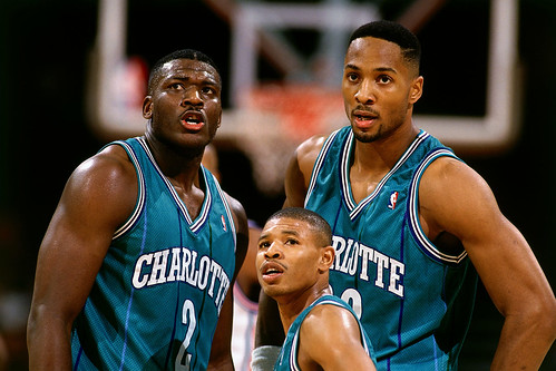 Larry Johnson-Muggsy Bogues-Alonzo Mourning