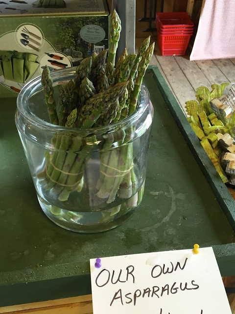 Emery Farm: Asparagus and Herbs