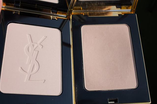 YSL Poudre Compacte Radiance Matte 03 и 04