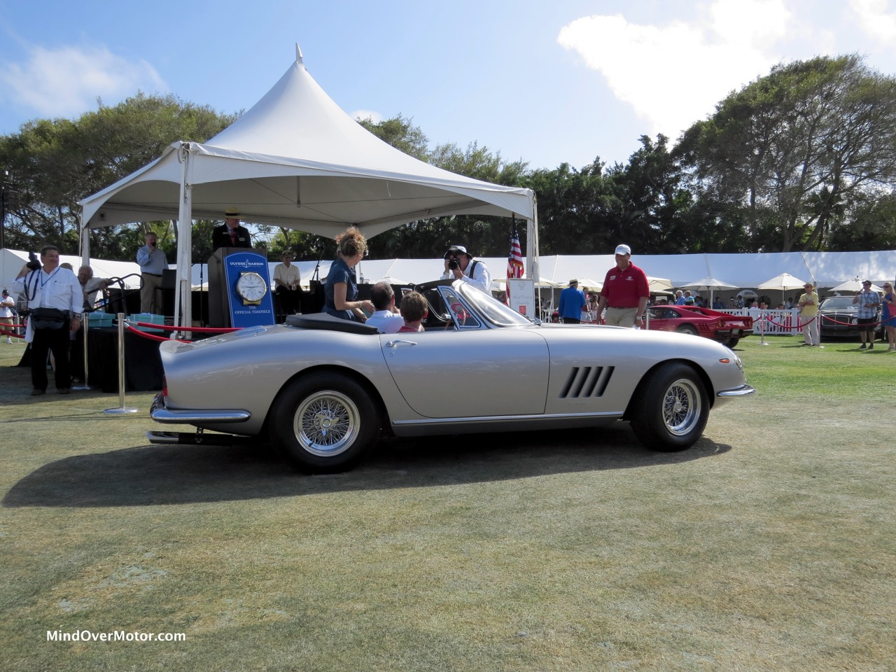 Ferrari 275 GTB:4 NART Spyder Profile