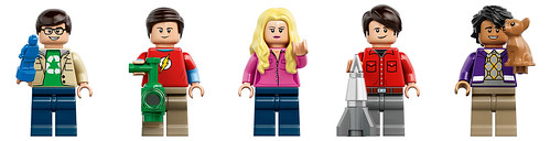 LEGO The Big Bang Theory Cast