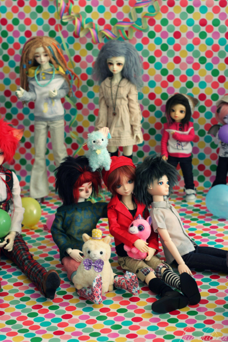 Doll party in Turku