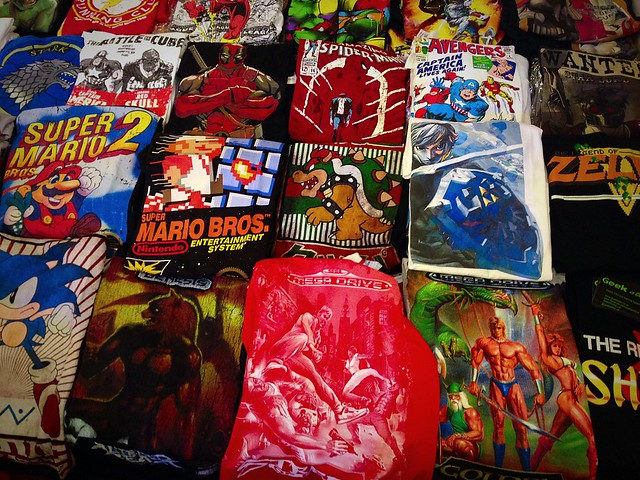 PLAY Blackpool Expo 2015 Geek is Chic T-Shirts