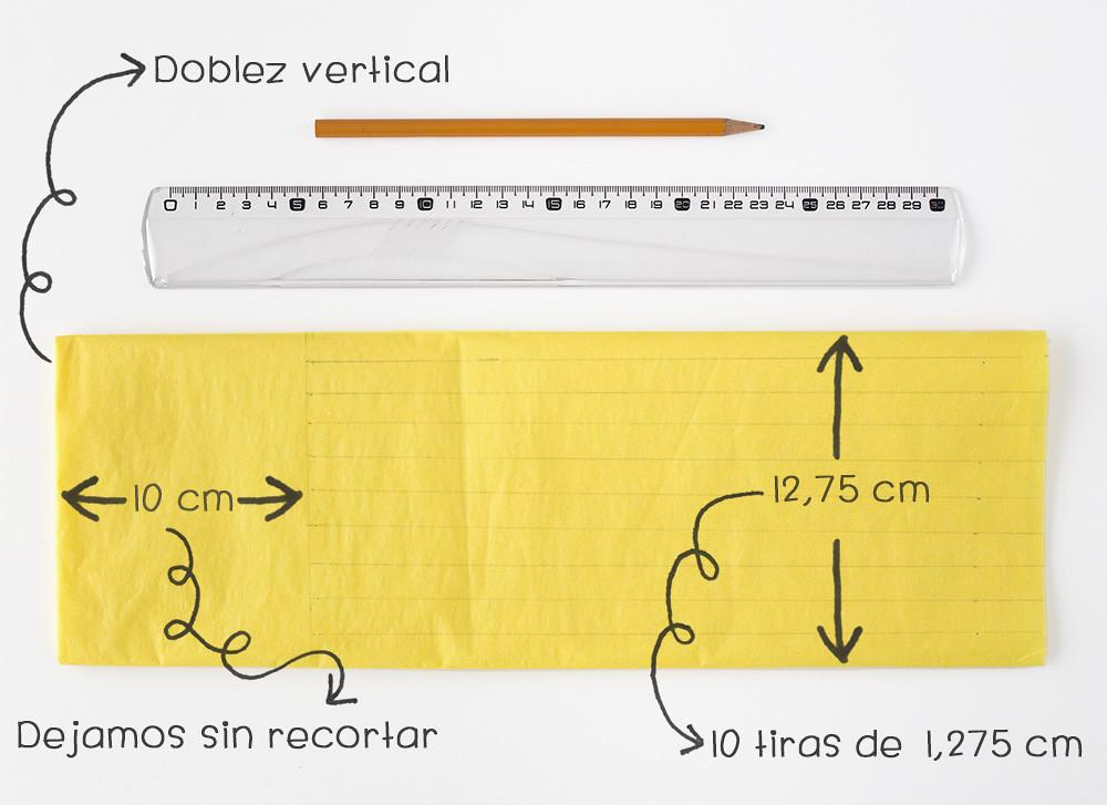 Guirnalda de papel de seda