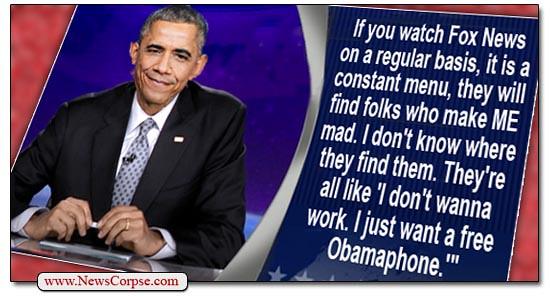Obama Phone Fox News