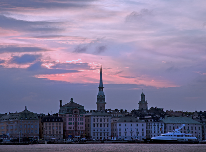 Stockholm Sunset View